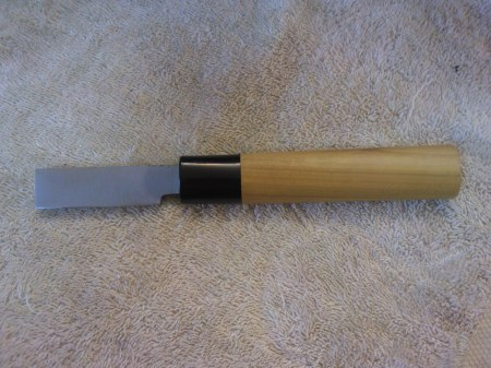 Maestro Wu Single Bevel Reed Knife -3